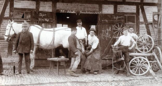 Schmiede Großfahner 1897