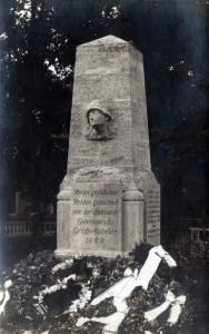 Denkmal für die Gefallenen des 1. Weltkrieges von 1922