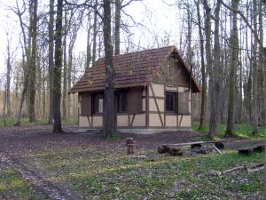 Das Forsthaus Großfahner heute.