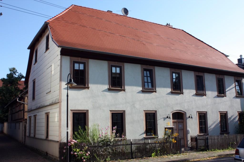 Pfarrhaus Großfahner in der Gartenstraße 11