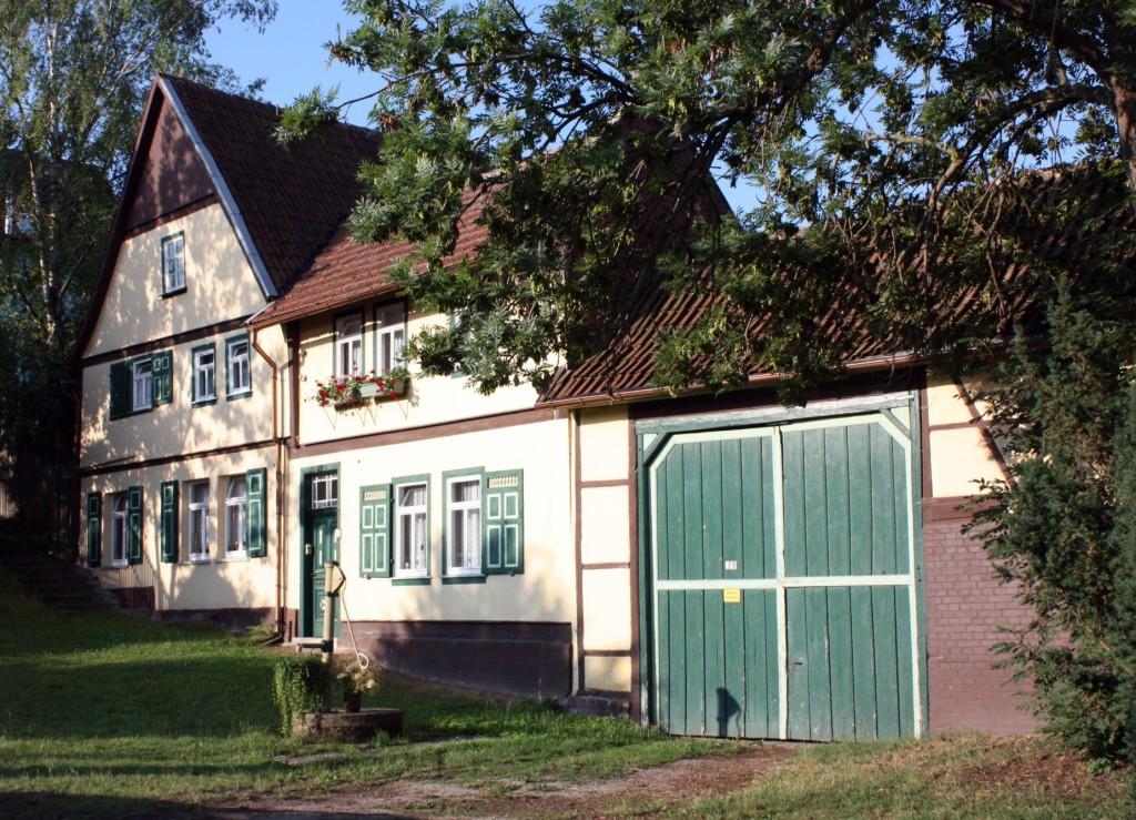 Das Wohnhaus von Familie Weiss, Lange Gasse 89