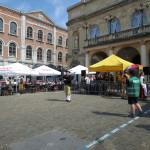 Auch ein Dudelsackspieler aus Wechmar ist zur Europeade nach Namur gereist.