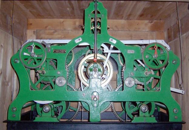 Kühnsche Turmuhr Großfahner 417_1919