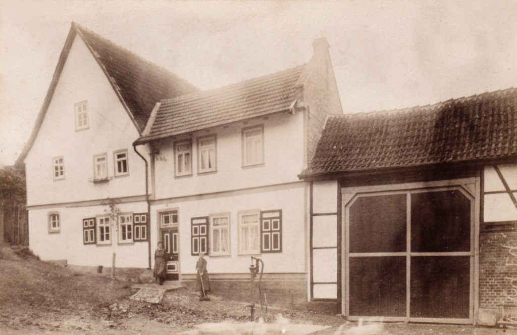 Wohnhaus Lange Gasse 89 um 1910.