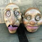 Die beiden Tratschtanten Martha und Liesbeth bereiteten den Zuschauern sehr viel Freude mit ihrem Erfurter Dialekt.